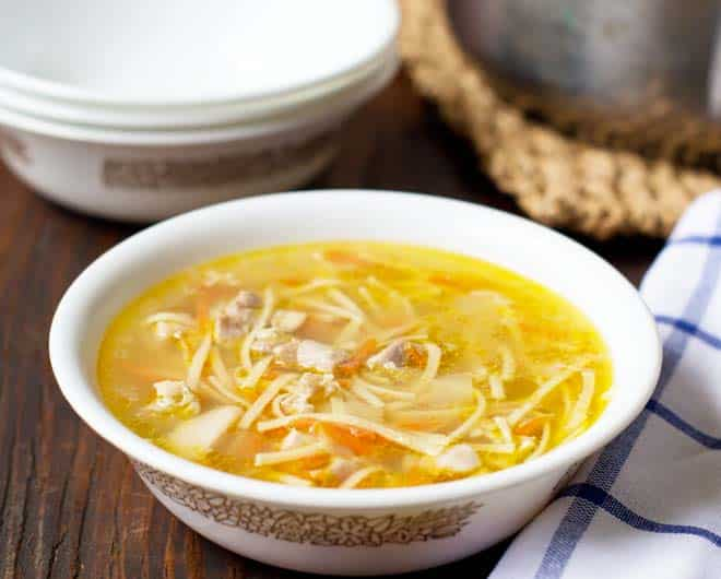 Quick homemade chicken noodle soup for How to make homemade chicken noodle soup