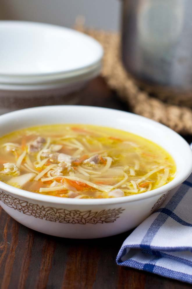 Lickety Split Homemade Chicken Noodle Soup