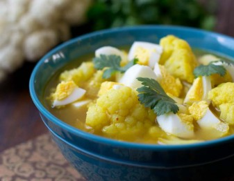Indian-Spiced Cauliflower Soup