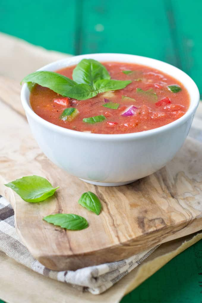 Gazpacho in 15 Minutes