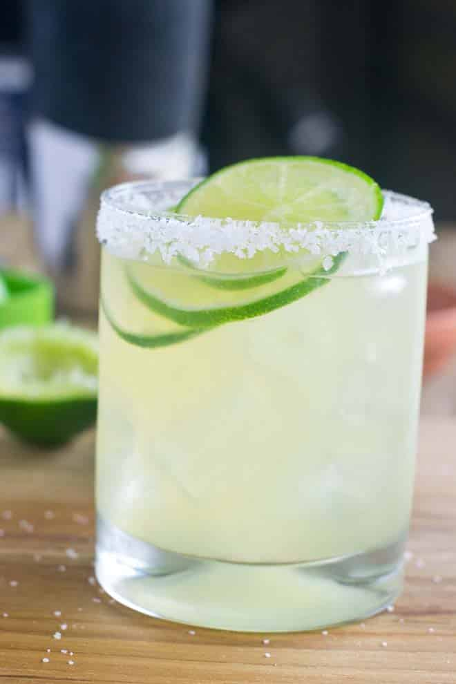 Classic Margarita with Salt