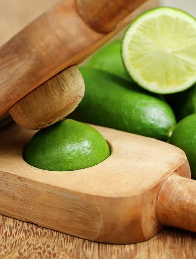 Wooden Lime Juicer