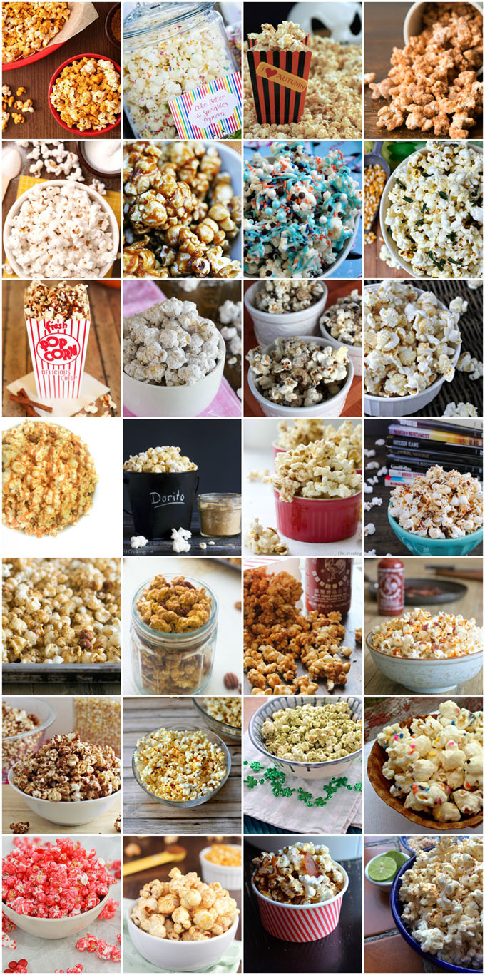 101 Popcorn Toppings