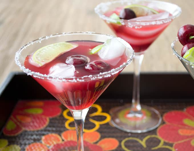 Cherry Lime Margarita