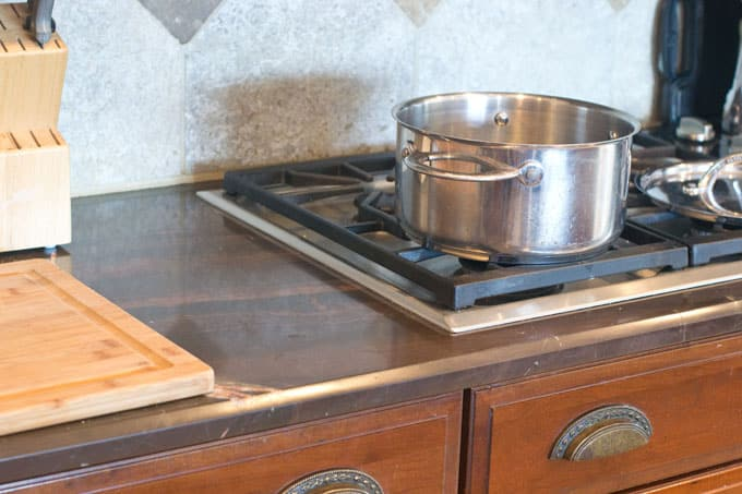 Get a heavy-duty 5 quart saucepan