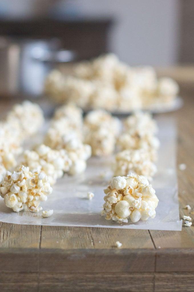 Let's Go Retro! Classic Popcorn Balls