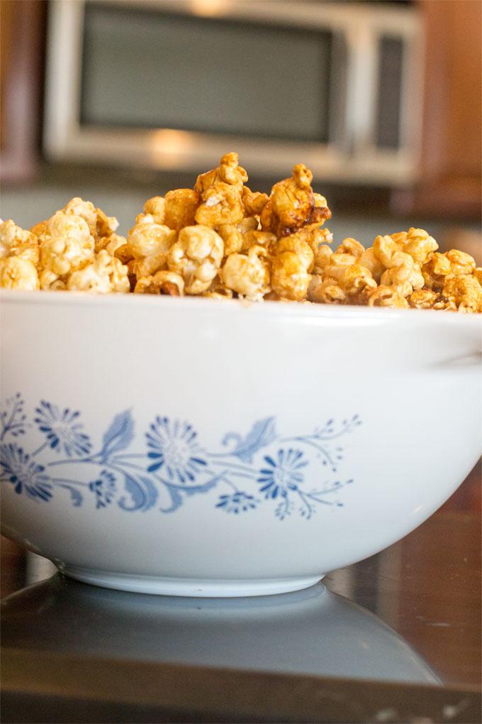 Microwave Caramel Corn - Zippety Zap!