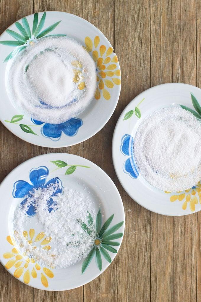 What's the best salt for rimming margarita glasses?