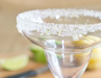 Salty-Sweet Citrus Rim Salt for Your Margarita Glass
