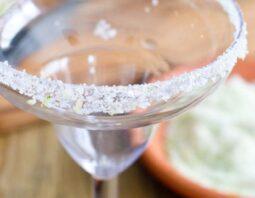 Citrus Flavored Rim Salt for Margaritas