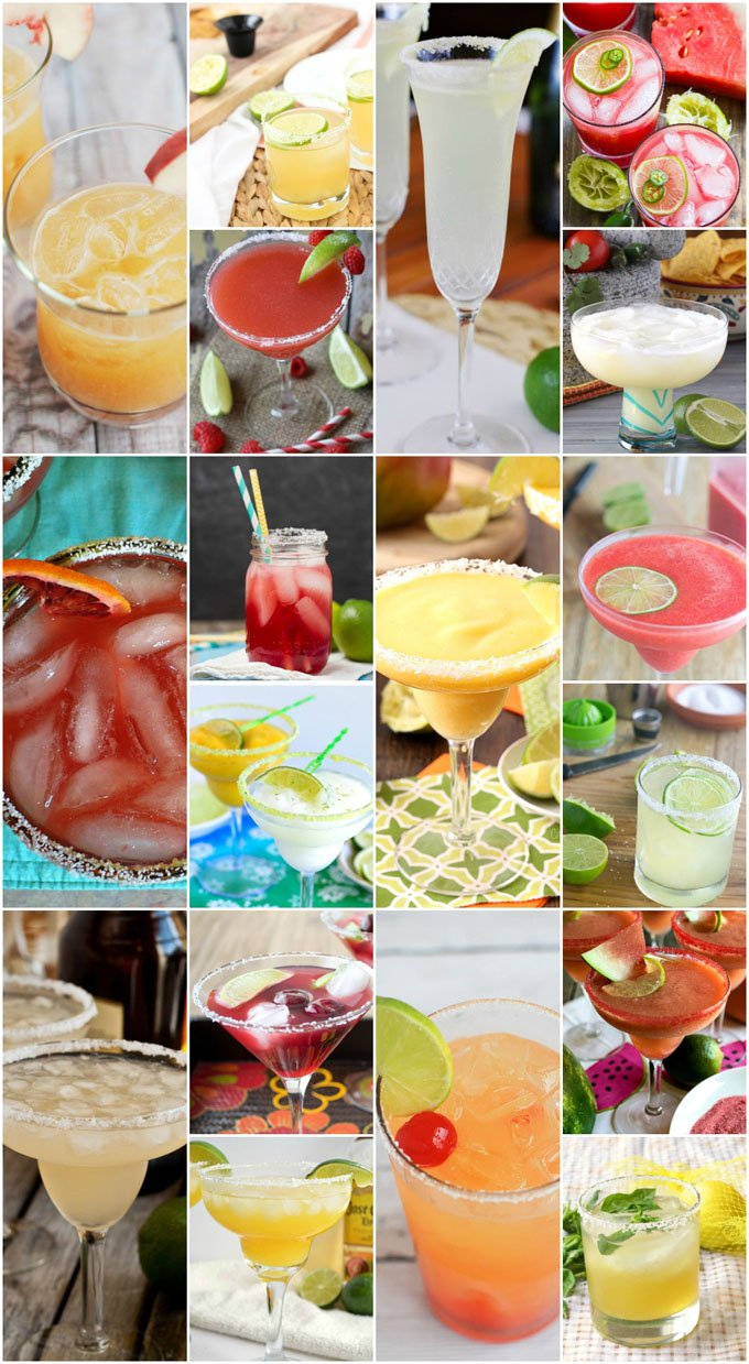 Hola Margarita Monday! 101 Margarita Recipes to Try (just maybe not all of them tonight!)