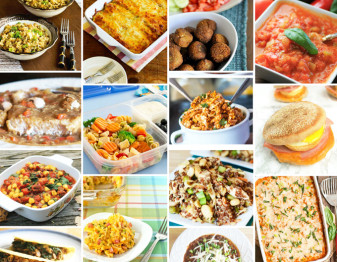 101 fabulous recipes that you can freeze and then pull out when you need a quick and easy meal.