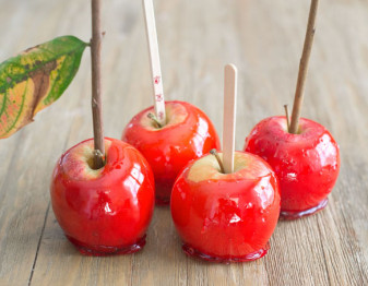 Sticks to use in candy apples