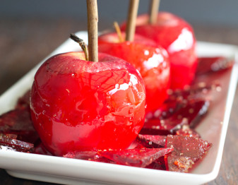 Candy Made From Leftover Candy Apple Coating