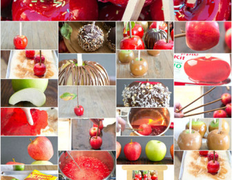 Everything you ever needed to know to make amazing candy apples, all in one place! It's our new topic and we're getting right into it starting today...