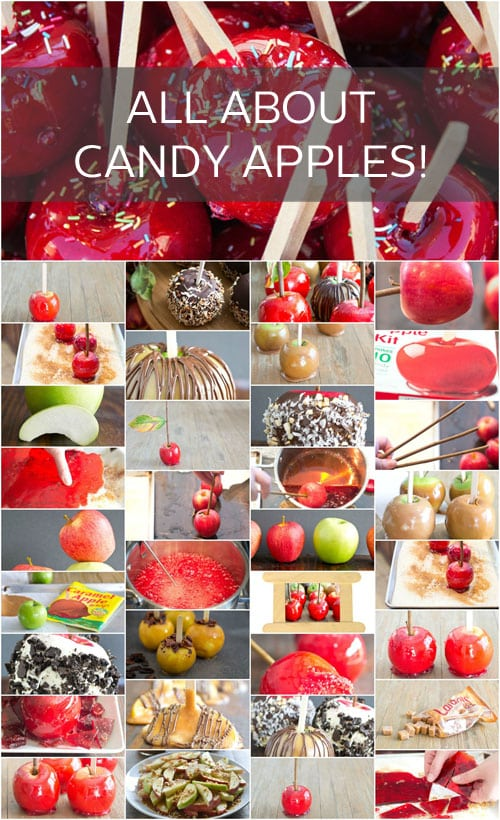 Everything you ever needed to know to make amazing candy apples, all in one place!