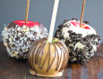 Mixtures of nuts and other toppings to make your candy apples taste like candy bars