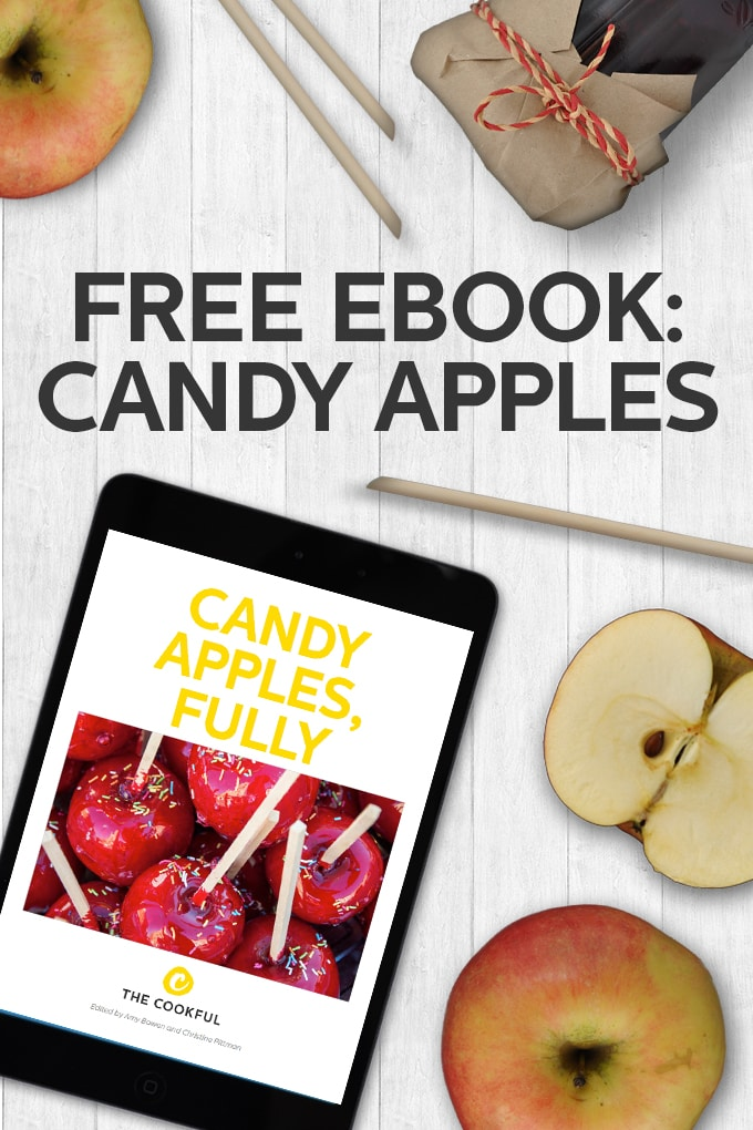 54 page ebook all about making beautiful and delicious candy apples