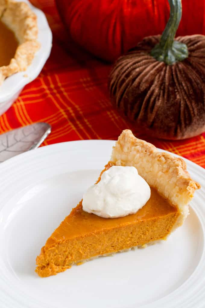 With vodka in the crust and bourbon in the filling, this Boozy Bourbon Pumpkin Pie is going to make your Thanksgiving dinner very merry indeed.