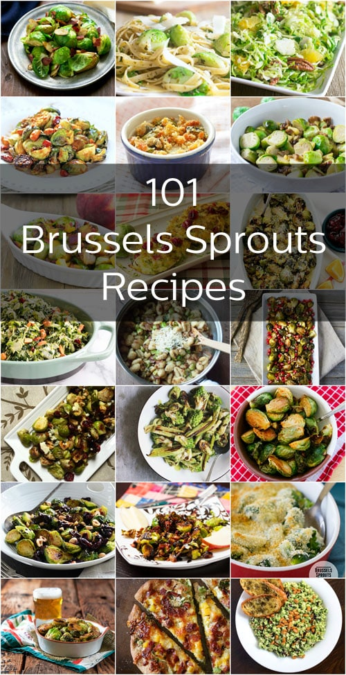 So so many delicious Brussels sprouts recipes. We dare you to try them all!