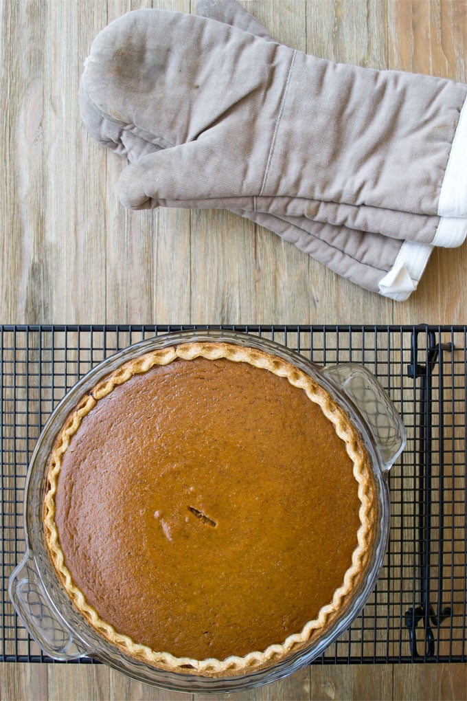 Learn the secrets to making a delicious pumpkin pie. This recipe has a lot of delicious spice and a perfect smooth texture.