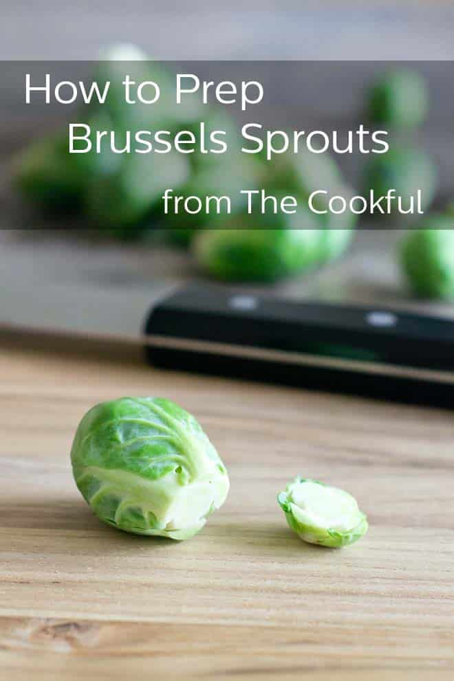 How to Trim and Cut Brussels Sprouts