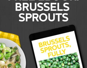 Free 30 page ebook all about Brussels sprouts. Full of recipes, tips and more.