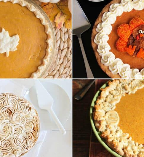 7 Ways to Decorate Pumpkin Pie