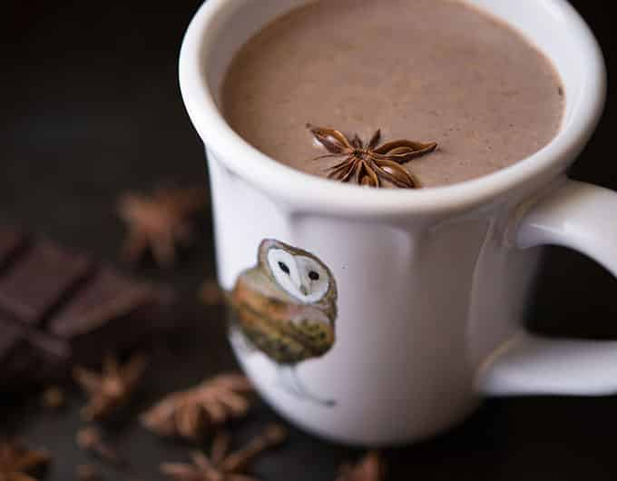 Star Anise and Clove Hot Cocoa