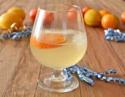 Get our recipe for the delicious Barbotage, a fancy Champagne cocktail made with cognac and orange liqueur.