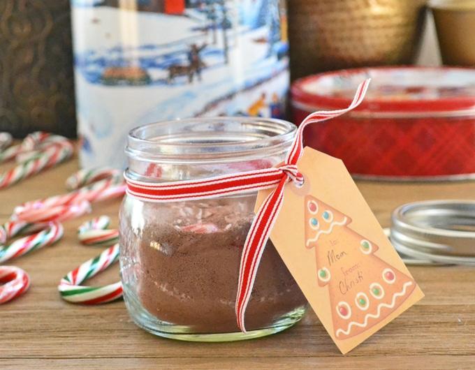 Candy Cane Hot Chocolate Powder