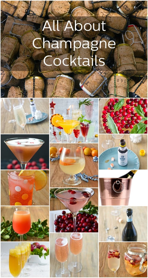 Champage Cocktails Collage Text 500