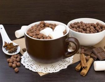 DIY Hot Chocolate Toppings Bar