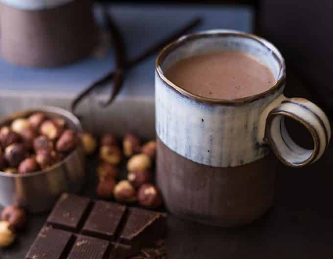 Hazelnut and Burnt Vanilla Hot Cocoa