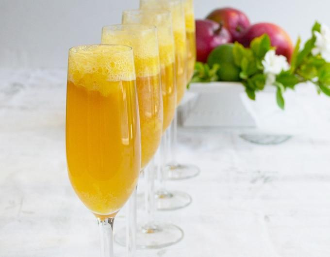 Mango-Lime Bellini