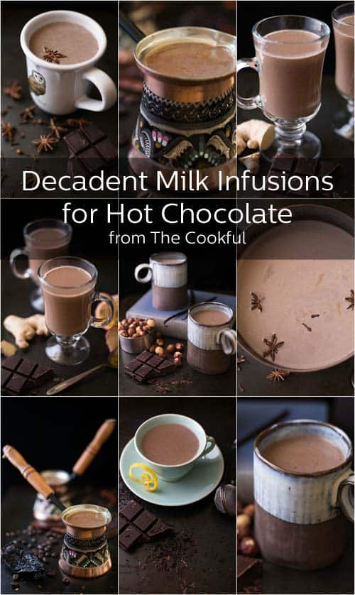 Decadent Milk Infusions for Hot Chocolate