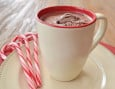 Peppermint Hot Chocolate Float