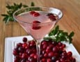 Learn how to make a delicious Champagne cocktail that features our favorite seasonal fruit, cranberries!