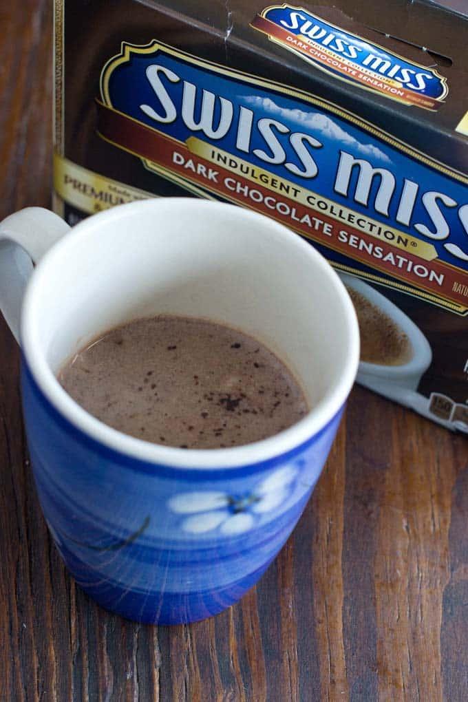 Swiss Miss Dark Chocolate Sensation