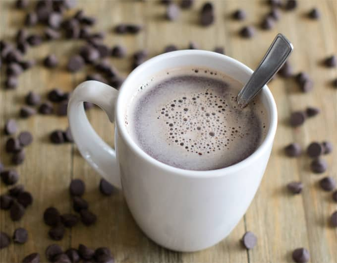 Hot Chocolate Made with Real Chocolate