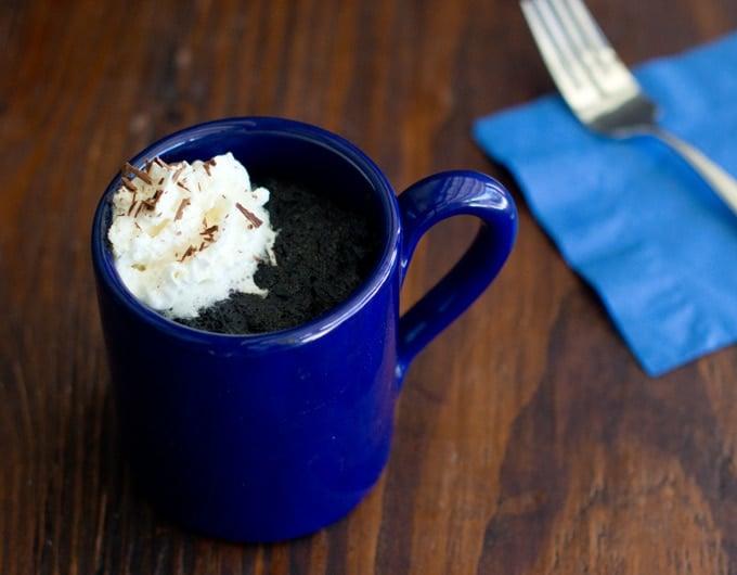 How To Make Chocolate Mug Cake With Hot Cocoa Mix