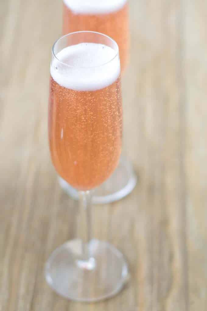 Kir Royale combines Champagne and a black currant liqueur to make a delectable cocktail. If you're feeling adventurous, we have some cool variations to try as well.