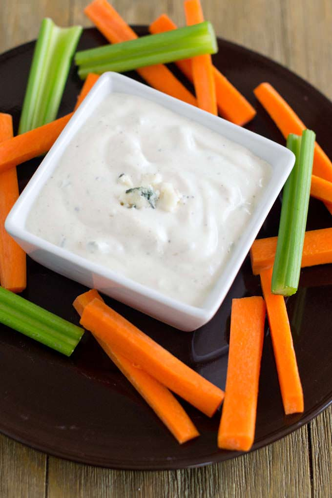 Best Blue Cheese Dip (even for people who don't like blue cheese dip!)