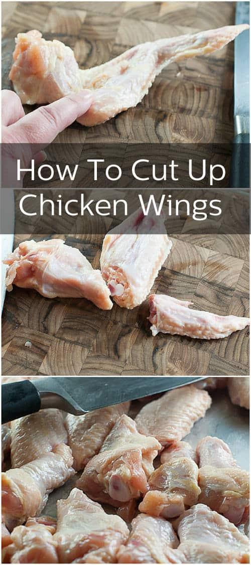 How To Cut Chicken Wings