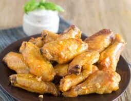 Fancier Buffalo Wings