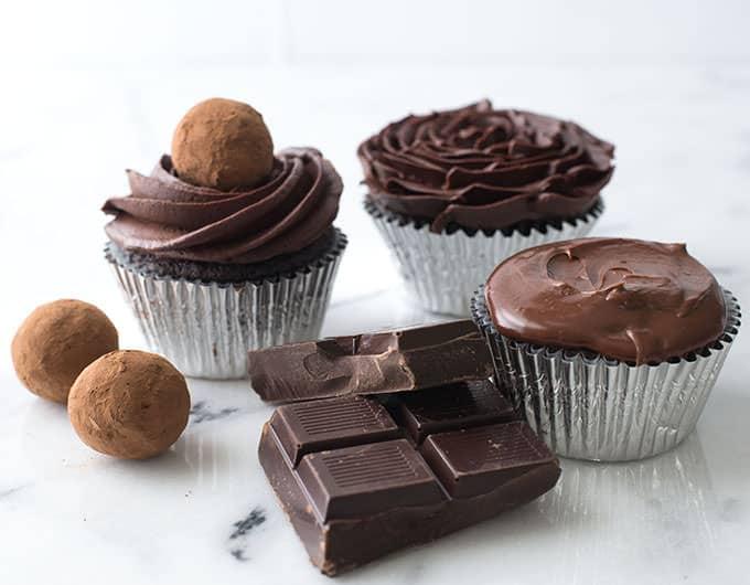 Chocolate ganache ratios
