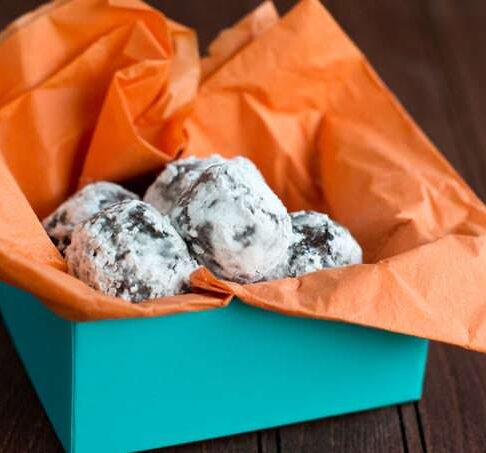How to make rolled truffles