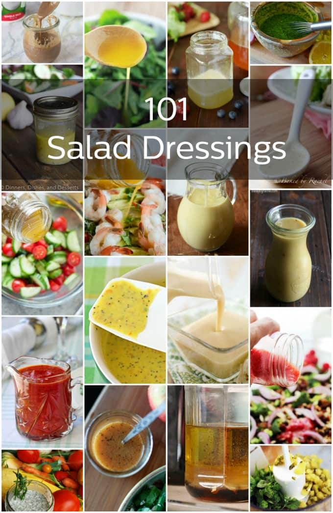 101 Homemade Salad Dressings