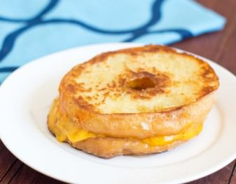 Donut Grilled Cheese