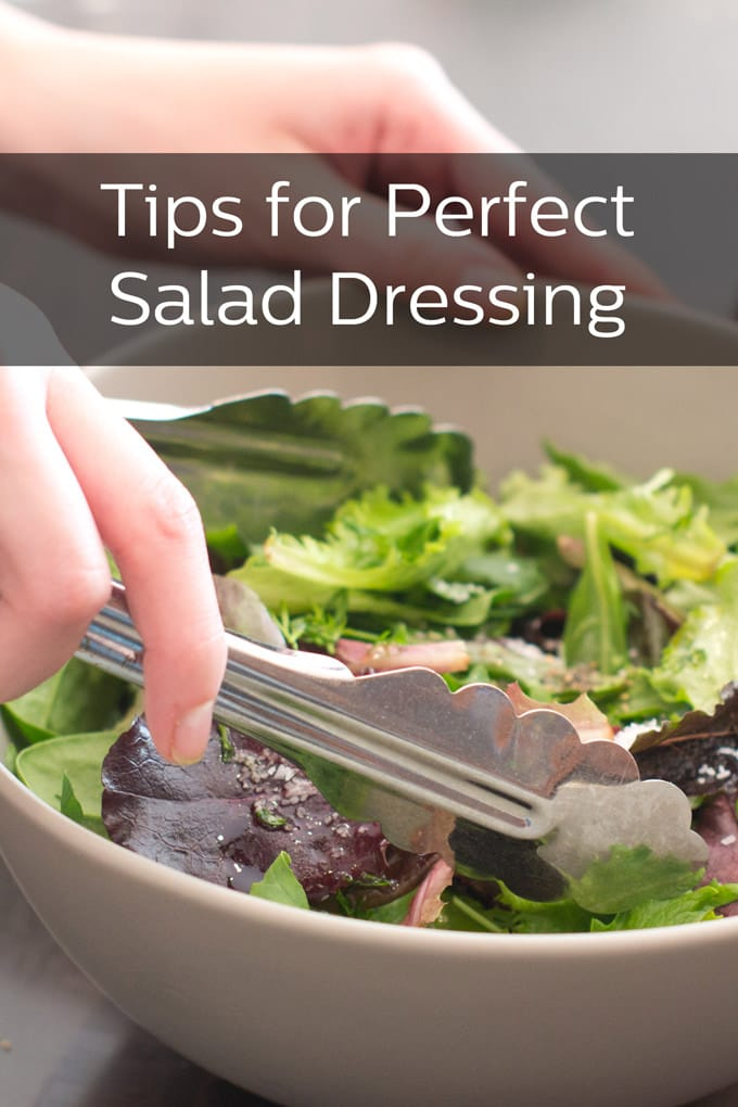 Tips for Perfect Salad Dressing